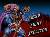 LaserSkelButton Power & Honor Ep. 001   Laser Light Skeletor (1988)