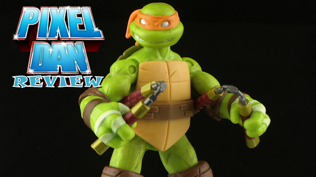 Playmates Teenage Mutant Ninja Turtles 2012 Michelangelo Figure