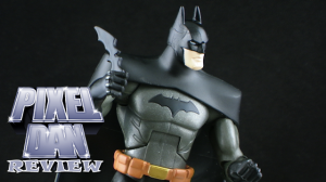 YJBatmanTitle 300x168 Mattel Young Justice 6 Batman Figure Review