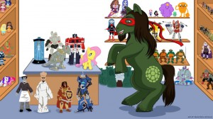 Suine HouseofHallock 300x168 House of Hallock: Turtles, Ponies, Monsters, Awesome!