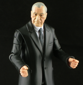 DKRAlfredThumb 293x300 Mattel Dark Knight Rises Movie Masters Alfred Pennyworth Figure Review