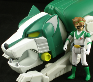 GreenLionThumb 300x265 Mattel Voltron Classics Green Lion and Pidge Figure Review