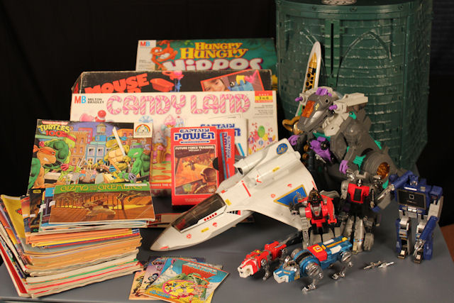 RummageSaleFind Cool Toy Finds: The Magical Rummage Sale