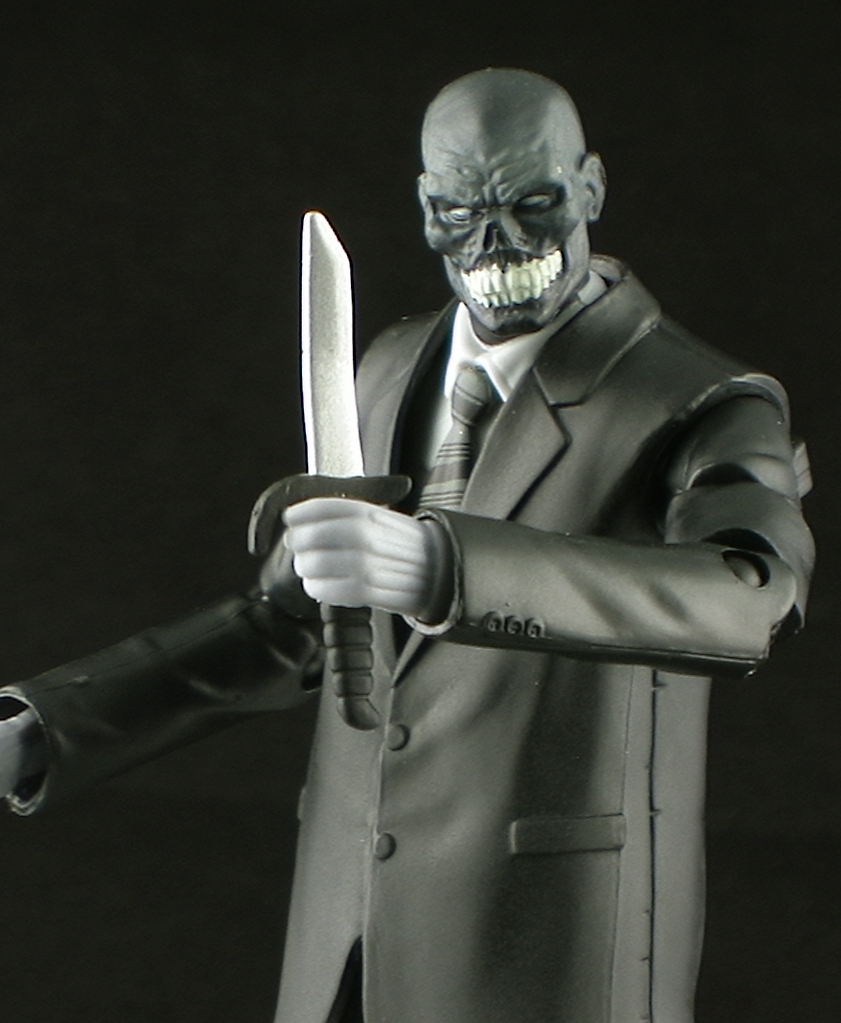 Dc universe club infinite earths black mask figure review for The mask photos gallery