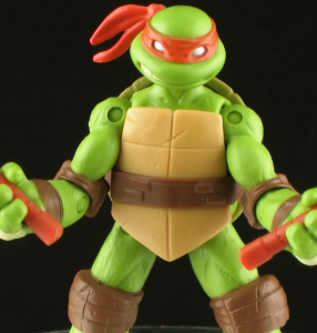 Nick Mikey Thumb 286x300 Nickelodeon Teenage Mutant Ninja Turtles Michelangelo Figure Review
