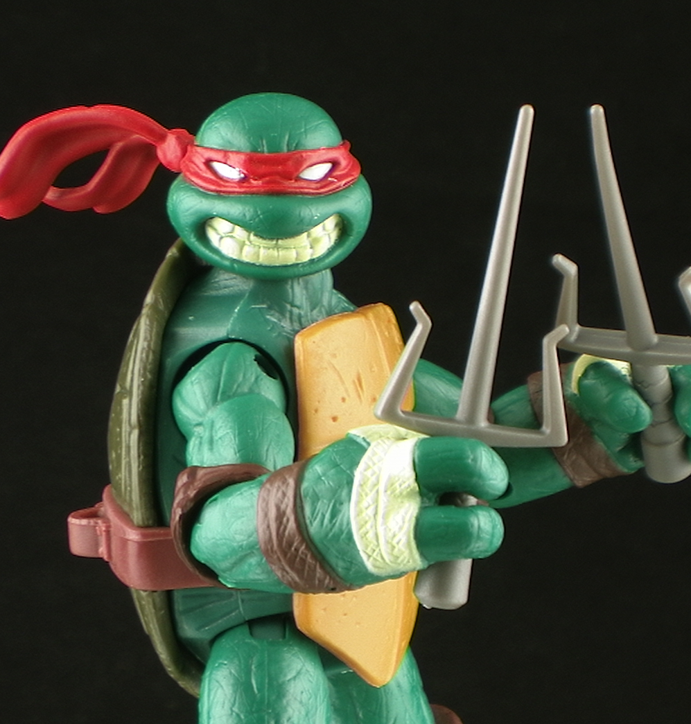 Nickelodeon Teenage Mutant Ninja Turtles Raphael Figure Review