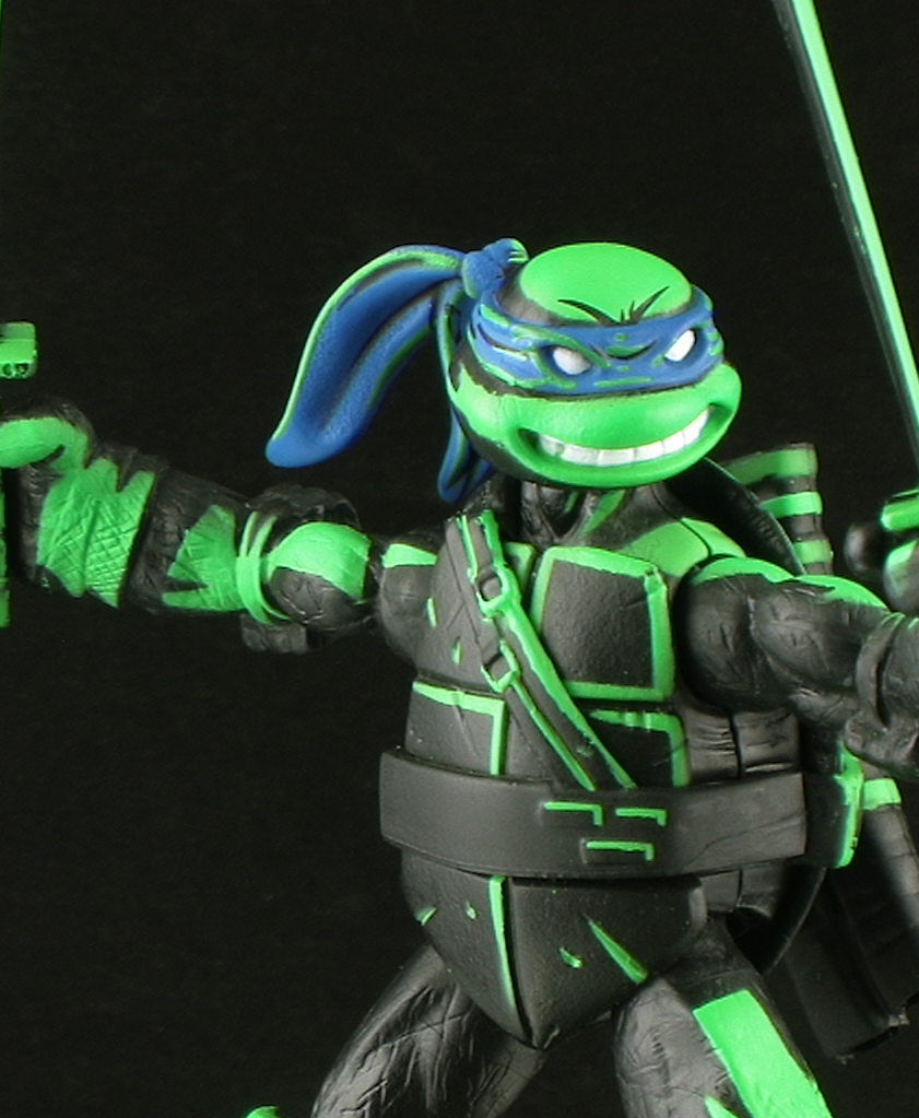 Teenage mutant ninja turtles toy line came with a san diego comic con