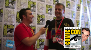 SDCC VoltronJeremy Title 300x168 SDCC 2012: WEP Voltron Interview with Jeremy Corray