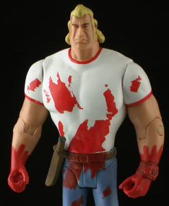 BloodyBrockThumb 246x300  BifBangPow Venture Bros SDCC Exclusive Brock Samson Bloody Variant Figure Review