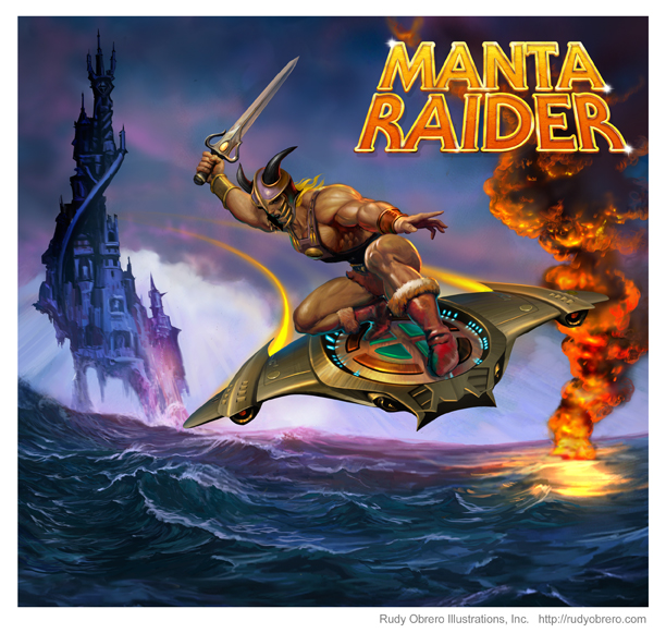 MantaRaider Art Manta Raider on sale October 17th, 2012