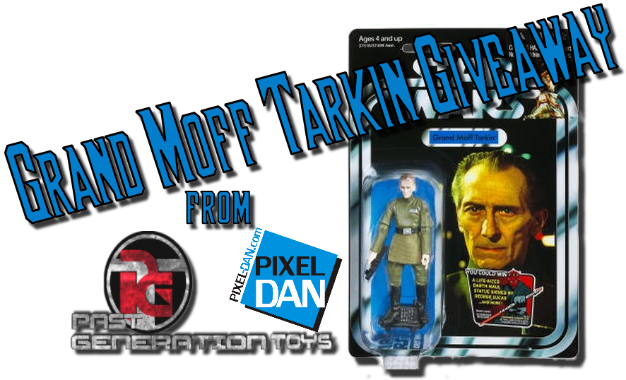 TarkinContestPGT Enter to win a Star Wars Vintage Collection Grand Moff Tarkin from Past Generation Toys