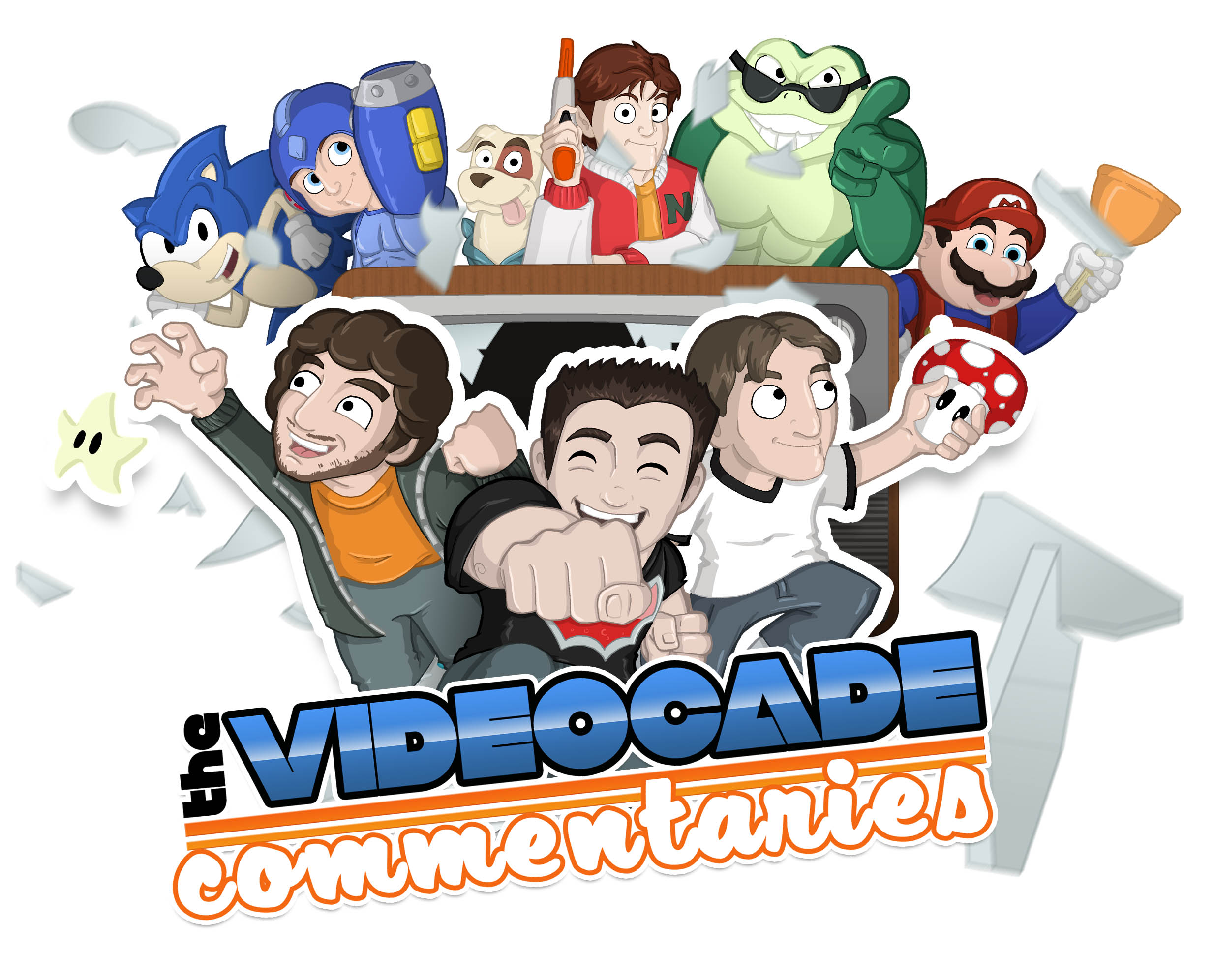 The Videocade Commentaries Ep 024 Double Dragon The Shield