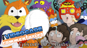 Ep 003 Bubsy Title 300x168 The Videocade Commentaries   Ep. 003   Bubsy (Pilot)