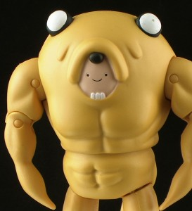 FinnJakeSuit Thumb 273x300 Jazwares Adventure Time 5 Finn in Jake Suit Figure Review