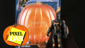 HalloweenBatmanTitle 300x168 Dark Knight Rises Target Exclusive Halloween Batman Figure Review