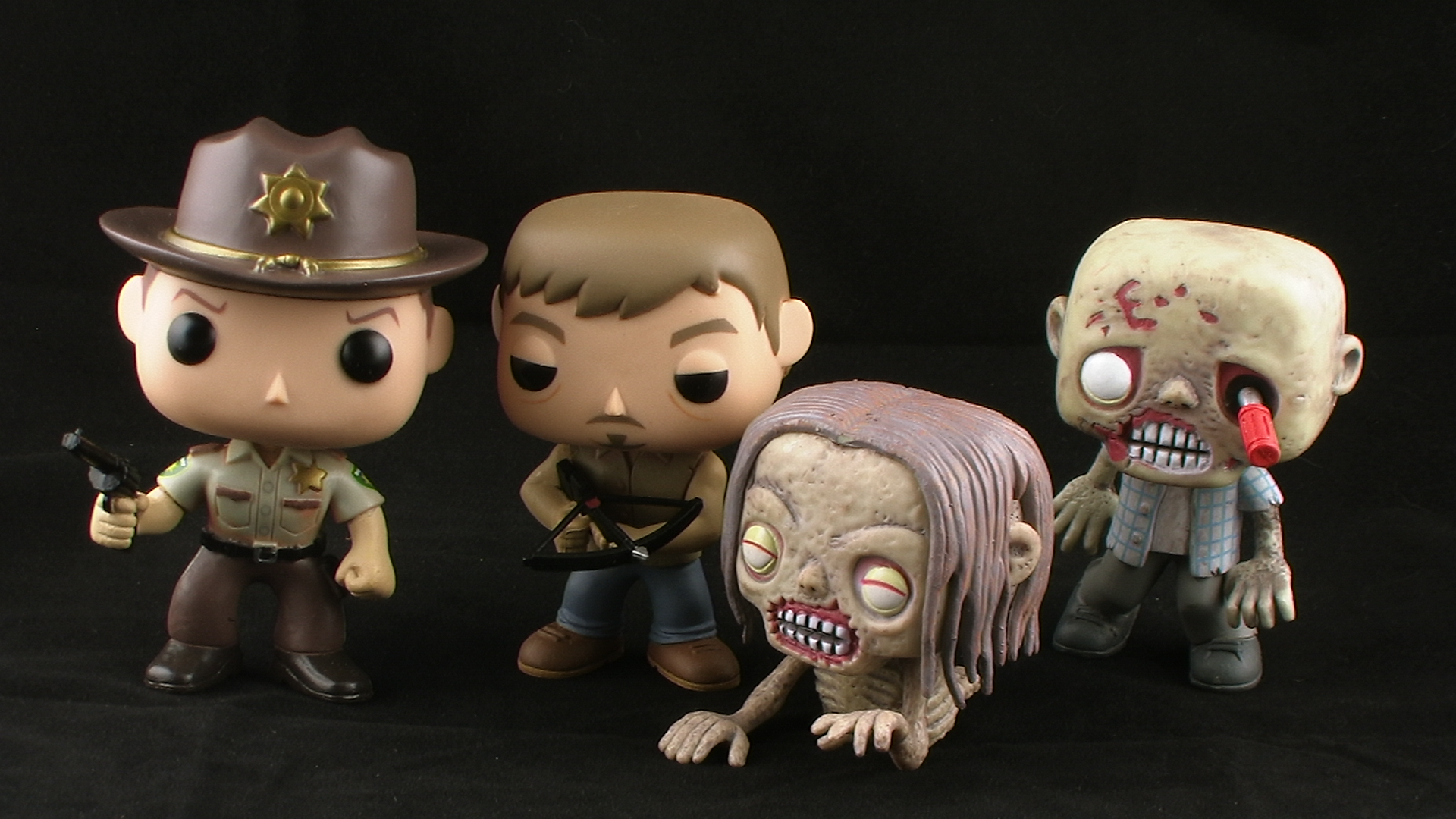 walking dead bubbleheads
