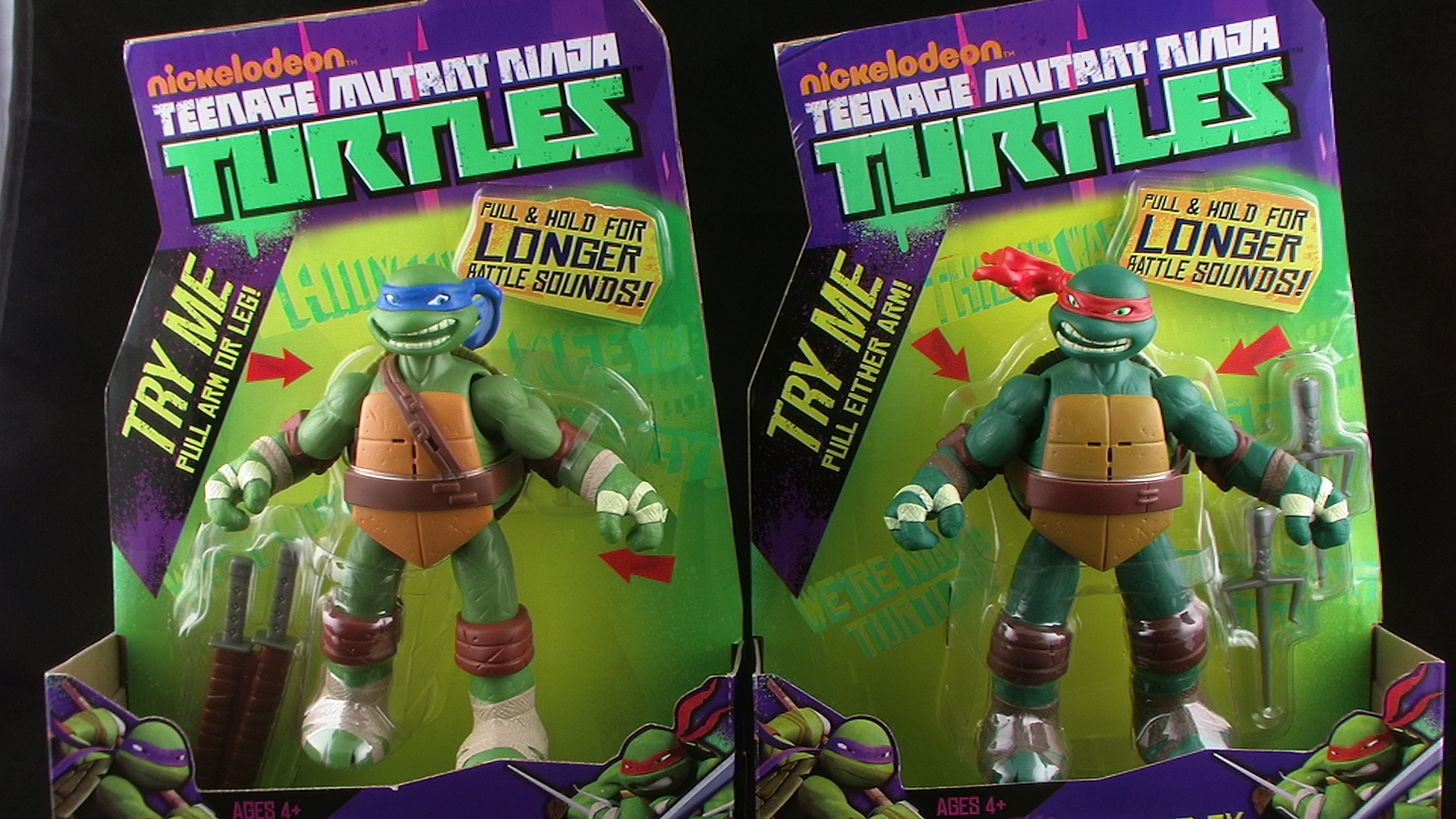 Nickelodeon Teenage Mutant Ninja Turtles Power Sound Fx Leonardo