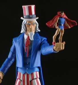 UncleSamThumb 274x300 DC Universe Classics Club Infinite Earths Uncle Sam and Doll Man Figure Review