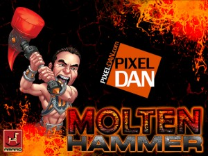 HangTag 2 300x225 Pixel Dan.com Exclusive Molten Hammer by Joe Amaro Available 12/15/2012
