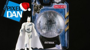 HolidayBatmanTitle 300x168 Mattel Target Exclusive TDKR Holiday Batman Figure Video Review