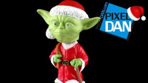 YodayBobbleTitle 300x168 Funko Holiday Santa Yoda Bobble Head Video Review