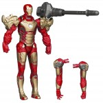 A1781 Gold Red 150x150  Hasbros Marvel Iron Man 3 Iron Assemblers Action Figures Images
