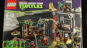 PIC 6355 300x168 LEGO Teenage Mutant Ninja Turtles Set #79103 Turtle Lair Attack Video Review