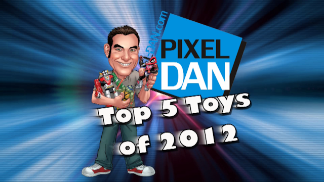 Top52012Title Pixel Dans Top 5 Favorite Toys of 2012   Plus MOTUC Mosquitor Giveaway!