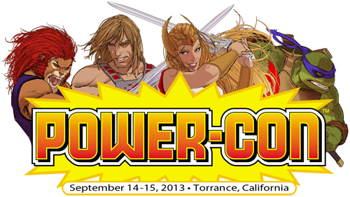 logo 500 power con all purpose characters Discounted Hotel Reservations now available for Power Con 2013!