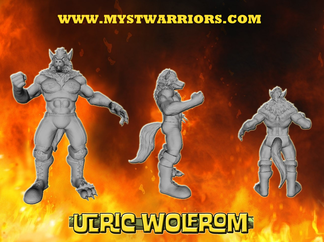 ulricreveal Mystical Warriors of the Ring: Ulric Wolfrom is here!
