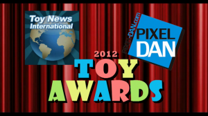 ToyAwards2012 Title 300x168 Toy News International & Pixel Dan present The 2012 Toy Awards   Awards Presentation