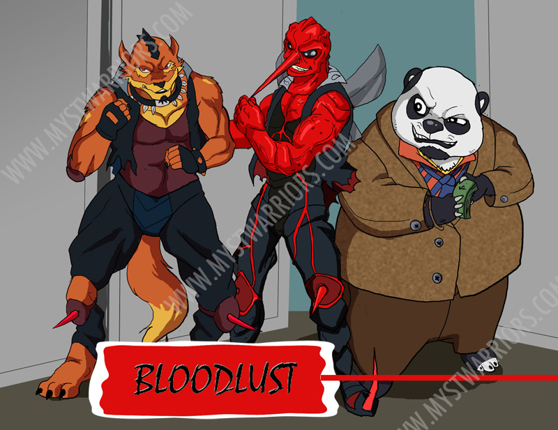 bloodlust Mystical Warriors of the Ring: Bloodlust revealed!