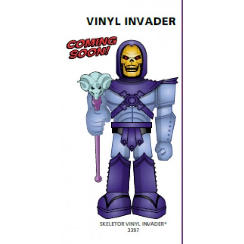 skeletor 500x500 Vinyl Invaders 11 MOTU Skeletor Robot coming from Funko