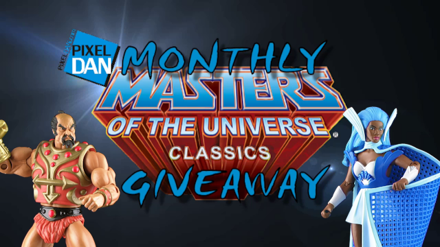 GiveawayTitle1 Pixel Dans Monthly Masters Giveaway: Win MOTU Classics Netossa and Jitsu!