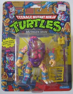 Mutagen Man Action Figure
