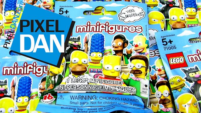Lego The Simpsons Blind Bag Minifigures Series 1 Video